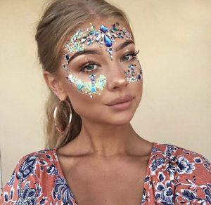 Balearic Beauties - the GLITTER trend! - Beyou Make-Up App